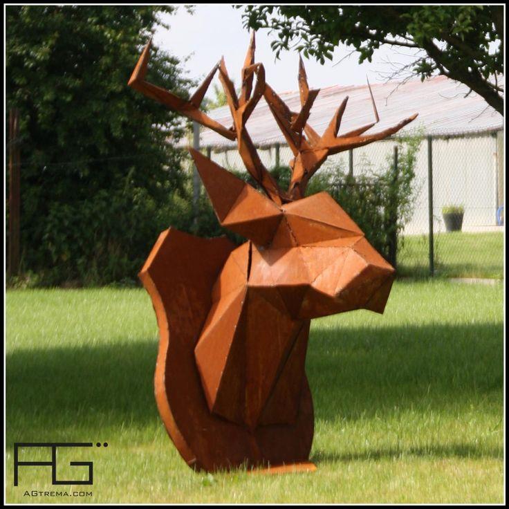 17 meilleures id es propos de tete de cerf origami sur pinterest cerf t te cerf et. Black Bedroom Furniture Sets. Home Design Ideas