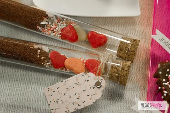 Fai da te: kit per cioccolata calda pieno d'amore