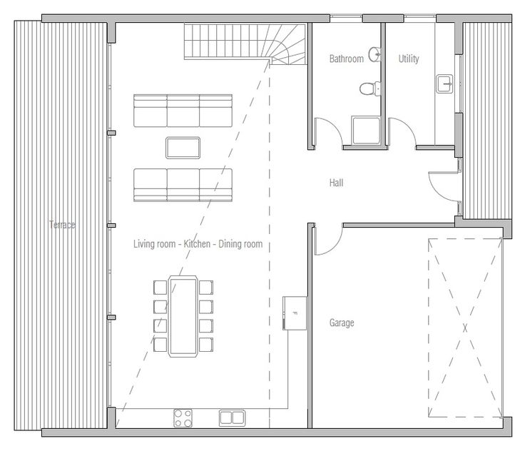 House Plan Modern House Plan To Modern Family.