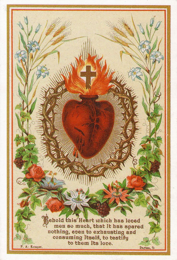 The Sacred Heart .. and the joy of Catholicism. More on this here … http://corjesusacratissimum.org/2010/03/confirmed-into-joy/