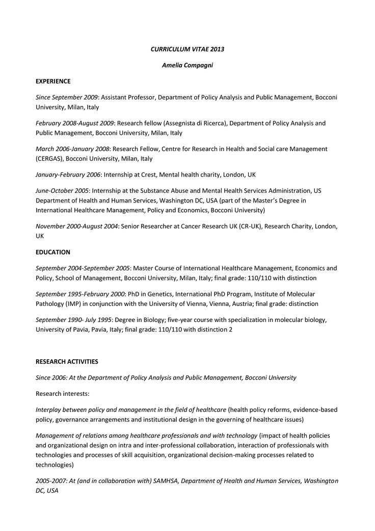 Healthcare resume how to draft a healthcare resume
