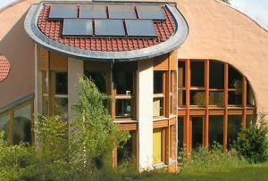 Дом из глины, способный дать гармонию с природой | Современная архитектура и фасады