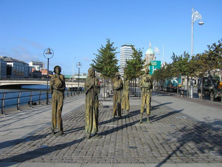 The Famine (Rowan Gillespie),Dublin,Ireland