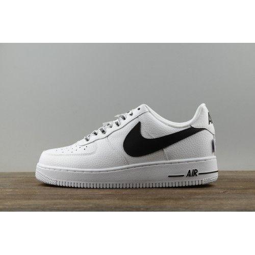 premium selection f7bd0 54a8d off white Nike Air Force 1 Low Men AF1 Shoes White Black