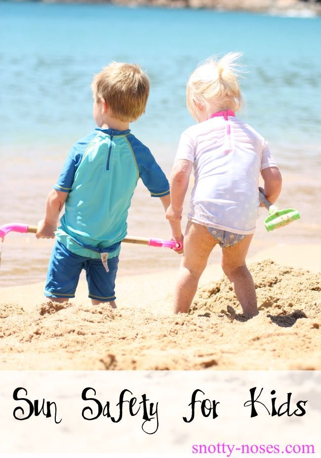 Sun Safety for Children. Parents help your family and baby stay safe. Advice by a pediatrician