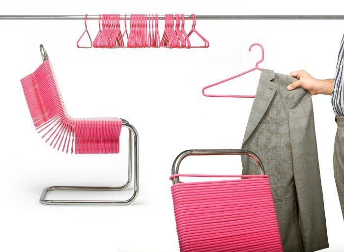 need in my closet: Ideas, Product Design, Chairs, Check Chair, Closet, Hangers, Coats
