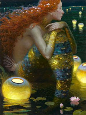 """canisantiquus: """" bochelly: """" jess-curious: """" stammsternenstaub: """" jess-curious: """" stammsternenstaub: """" luz-sonriente: """" Siren Song series by Victor Nizovtsev """" I love the look of these, but all I can..."""