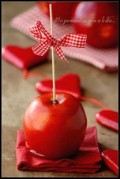 recette : Une bonne pomme d'amour