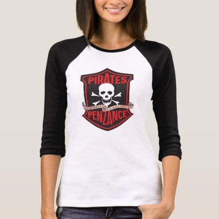 Lamplighters Music Theatre The Pirates of Penzance T-Shirt - click/tap to personalize and buy