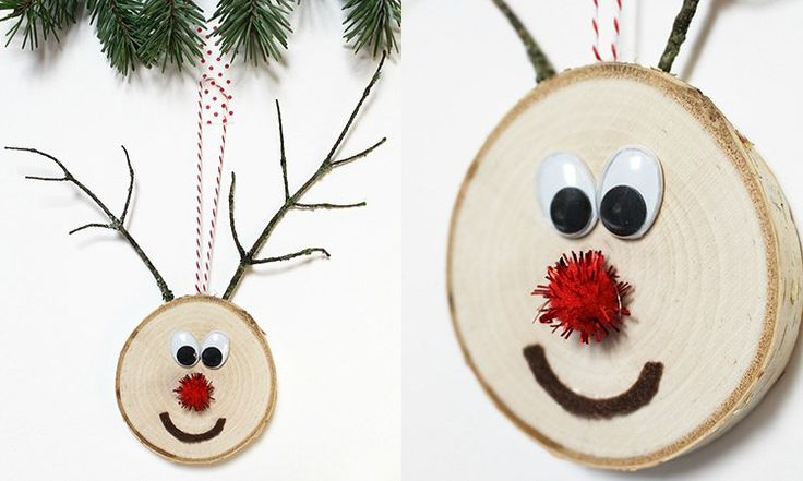 10 DIY Christmas ornaments that are super fun and easy to make!
