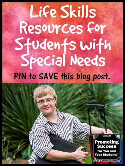 Visit this teacher blog for FREE activities and ideas for teaching life skills to students with autism and special education needs. Activities include reading a recipe, counting money, financial literacy, telling time, fire safety and more.