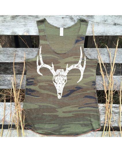 Women's Camo Deer Silhouette Tank Top, http://www.countryoutfitter.com/womens-camo-deer-silhouette-tank-top/2345893.html#q=Country+Deep+Apparel&start=1