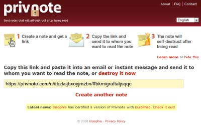 How to Send Self-Destructing Emails – 3 online services for you | My Blog Times