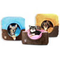 Hip Doggie Safe House Bed Condo for Dogs - PetSmart