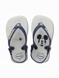 Havaianas Baby Mickey Minnie available at www.fabflipflops.co.uk #flipflops #beach #summer #havaianas #mickeymouse