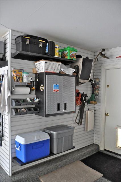 Garage Storage Setup - Gladiator GarageWorks