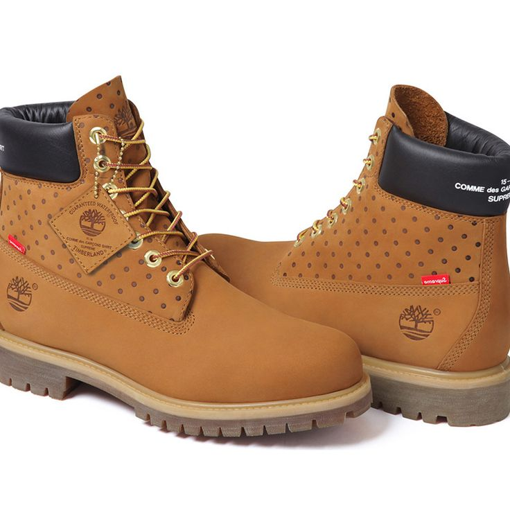 Supreme X Comme Des Garcons X Timberland Fall Winter 2015  http://www.selectd.co/flash/supreme-x-comme-des-garcons-x-timberland-fall-winter-2015