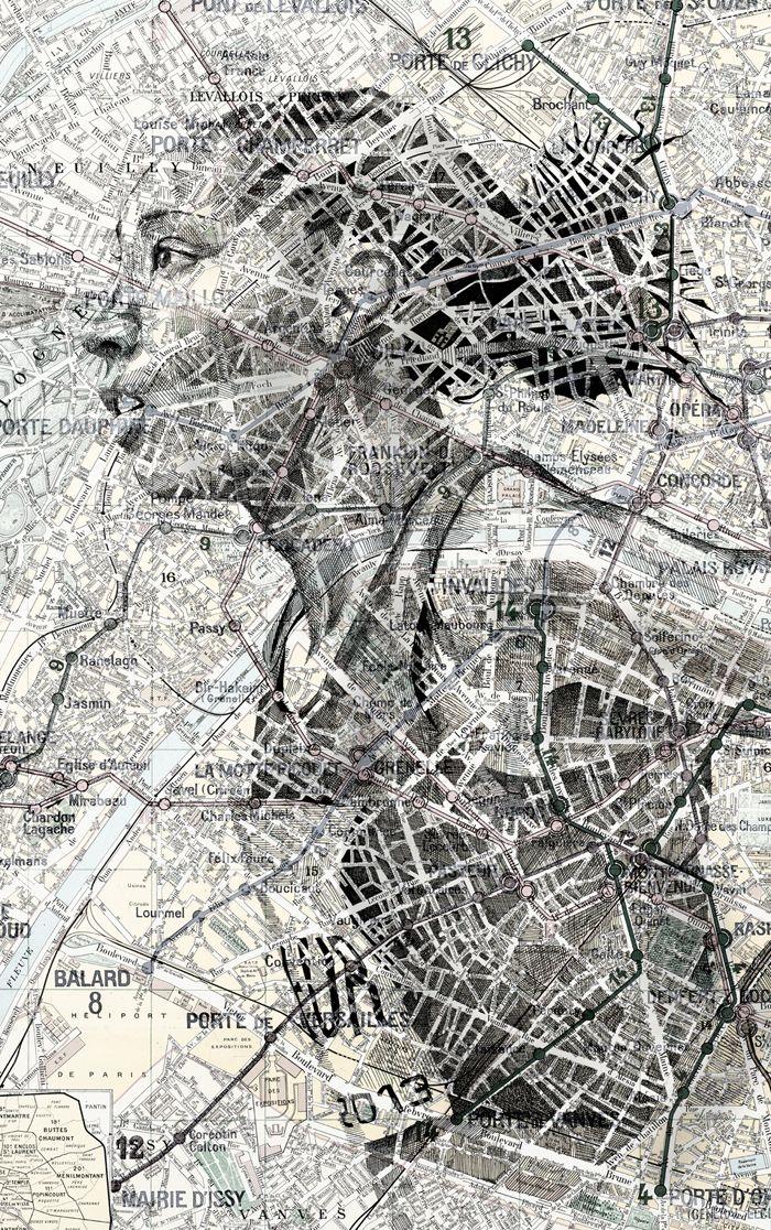 Map portraits