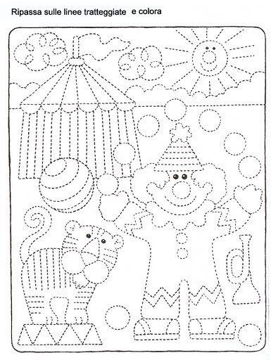 Schede Didattiche Carnevale Ea Pinterest Montessori