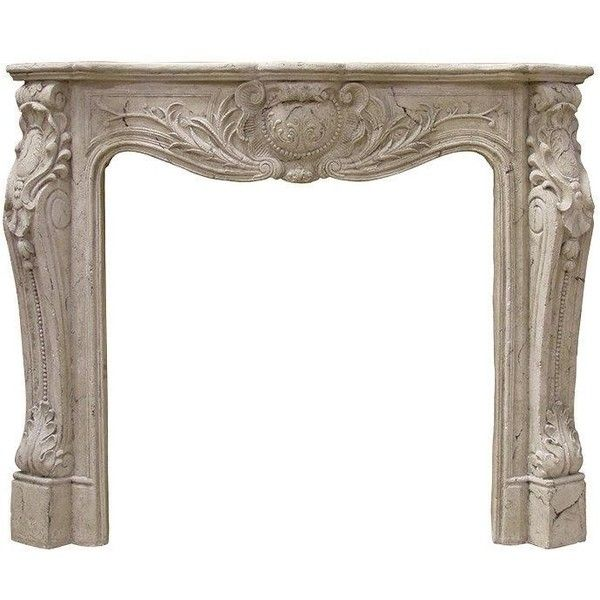 French Fire Surround ($695) ❤ liked on Polyvore featuring home, home decor and french home decor
