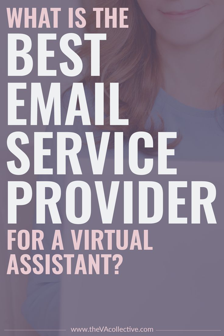 What is the Best Email Service Provider for a Virtual Assistant? The VA Collective breaks down the pros and cons of each, and lists the top three for you to decide from! Plus, a handy comparison chart // The VA Collective