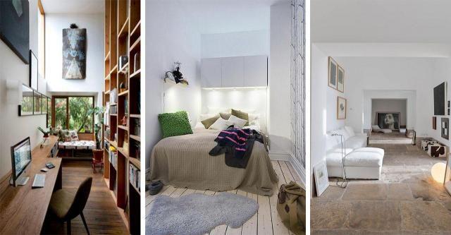9 pomysłów na zaaranżowanie małego, wąskiego pokoju