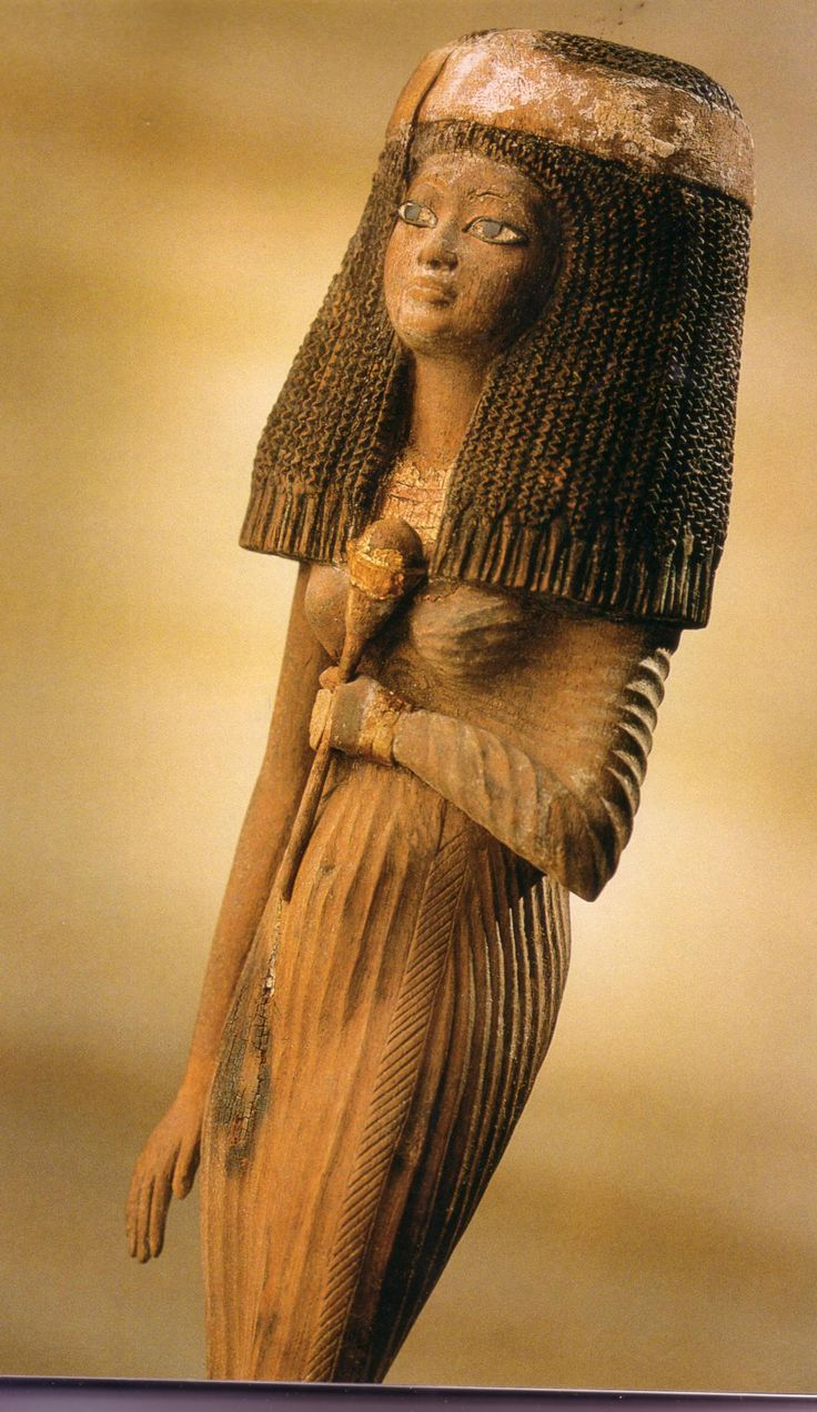 Queen Tiye (also spelled Taia, Tiy and Tiyica - 1398 BC–1338 BC). She was the daughter of Yuya and Tjuyu (also spelled Thuyu). She became the Great Royal Wife of the Egyptian pharaoh Amenhotep III. She was the mother of Akhenaten and grandmother of Tutankhamun. Her mummy was identified as The Elder Lady, found in the tomb of Amenhotep II (KV35) in 2010.