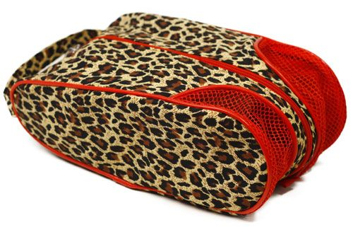 A must-have for golf enthusiast Glove It Ladies Shoe Bags - Leopard. #Sports #Ladies #Fashion #Accessories #Golf #ShoeBags