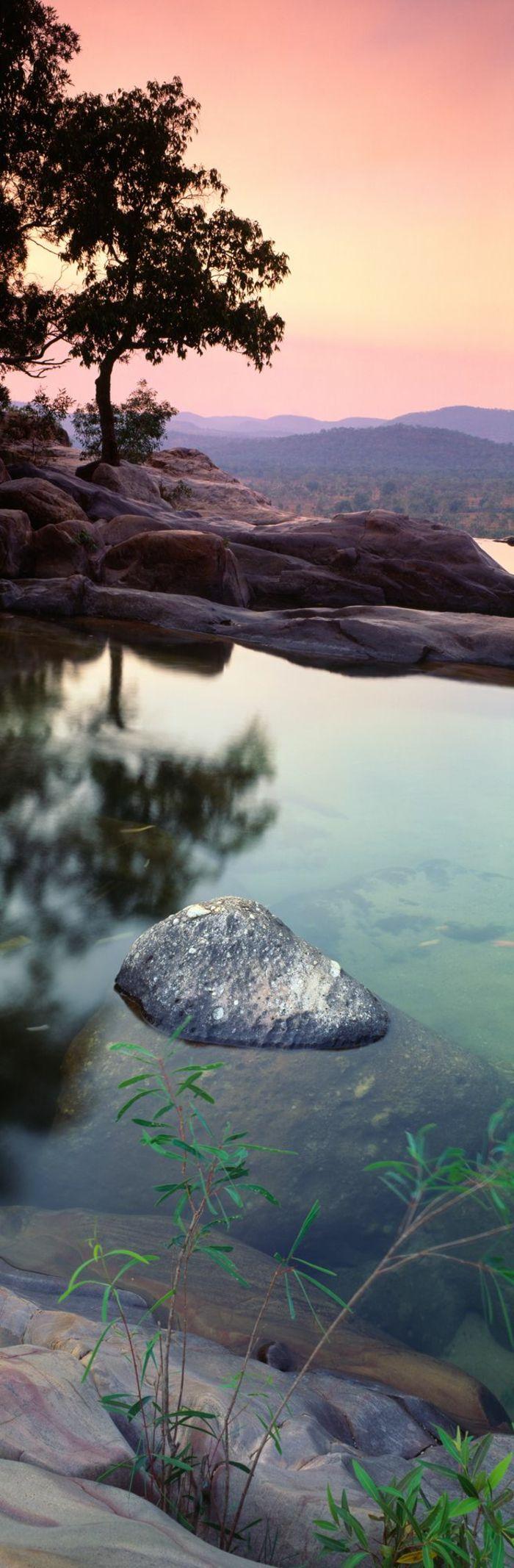 un joli paysage montagne pour votre fond ecran gratuit a telecharger