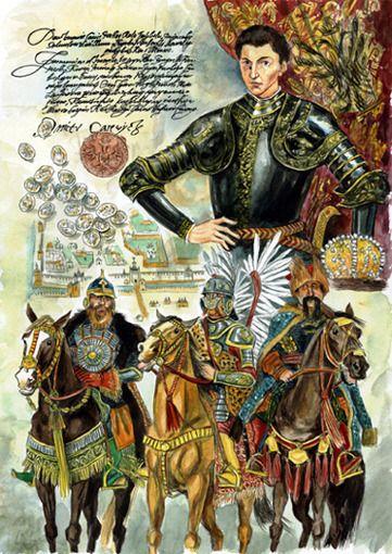 Illustration Эскиз иллюстрации к Лжедмитрию II по Э.Успенскому -1