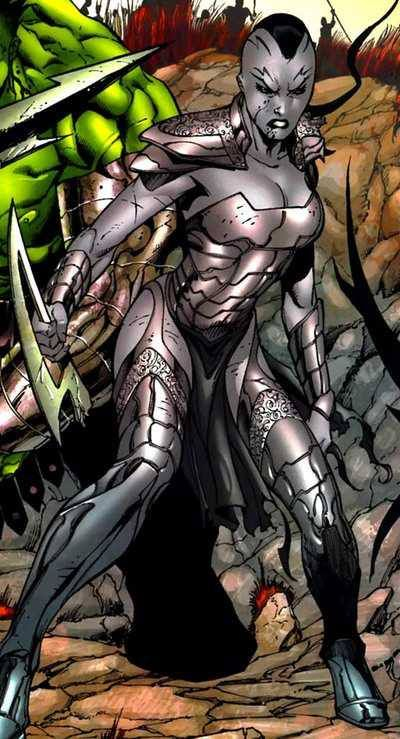 Caiera Oldstrong Queen of Sakaar......Mother of Skaar