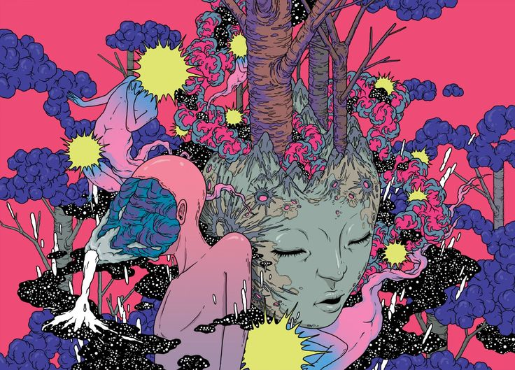 Bang Sangho's Flamboyant, Strange Worlds | Hi-Fructose Magazine