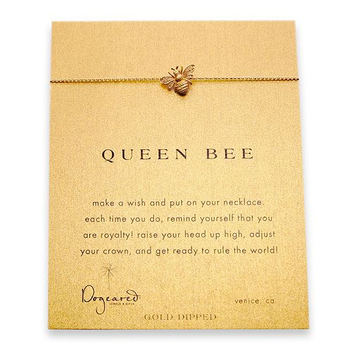 Bee necklace. I definitely want this. Too bad my birthday is months away... :-/