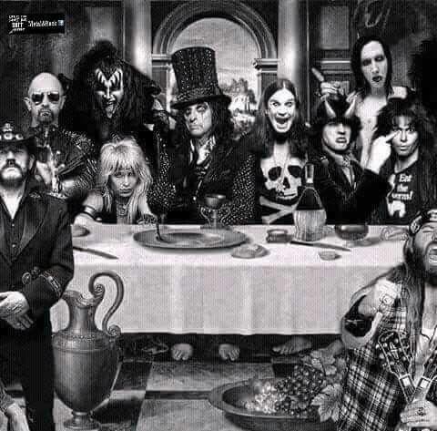La Ultima Cena Metalera....porque ya No hay nuevos grupos como Ellos.