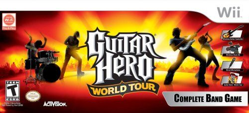 Amazon.com: Guitar Hero World Tour Band Bundle for PlayStation 3: Artist Not Provided: Video Games