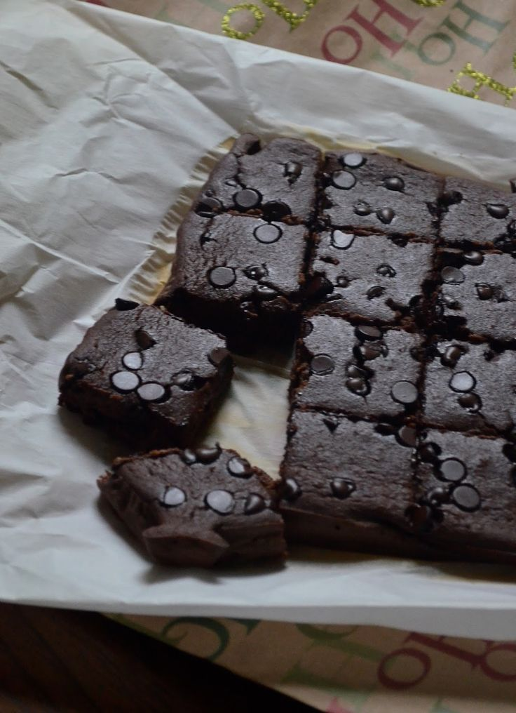 Chobani Greek Yogurt Chocolate Brownies!