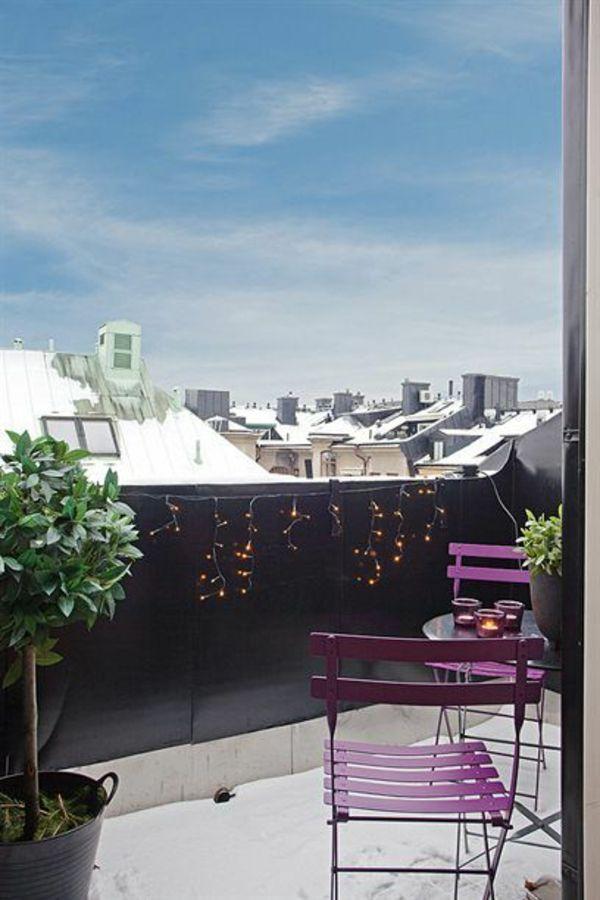 """Über 1000 Ideen zu """"Winter Balcony auf Pinterest  Balkon"""