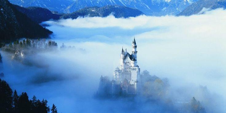 Platser i världen som inspirerade Disney filmer. Första delen: kungliga palats och slott