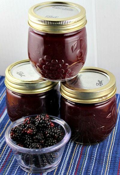 Homemade Seedless Blackberry Preserves Recipe