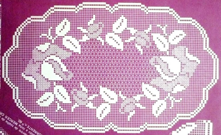 rendas em crochet | crochet em revista