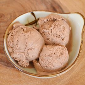 Smoked Chocolate Ice Cream, an impossible sounding dessert made with ...