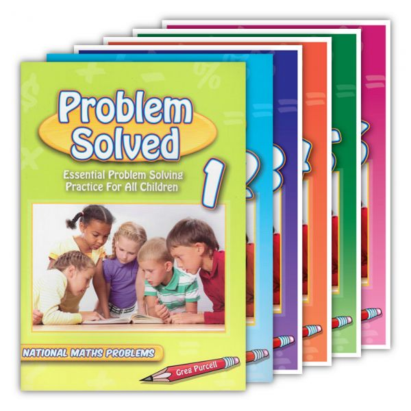Problem Solved. Problem Solved is an innovative mathematical problem solving series that provides students with opportunities to apply their numeracy skills in order to solve problems. The problem solving process will vary from student to student and from problem to problem. http://www.educationstore.com.au/catalogue/mathematics/problem-solved