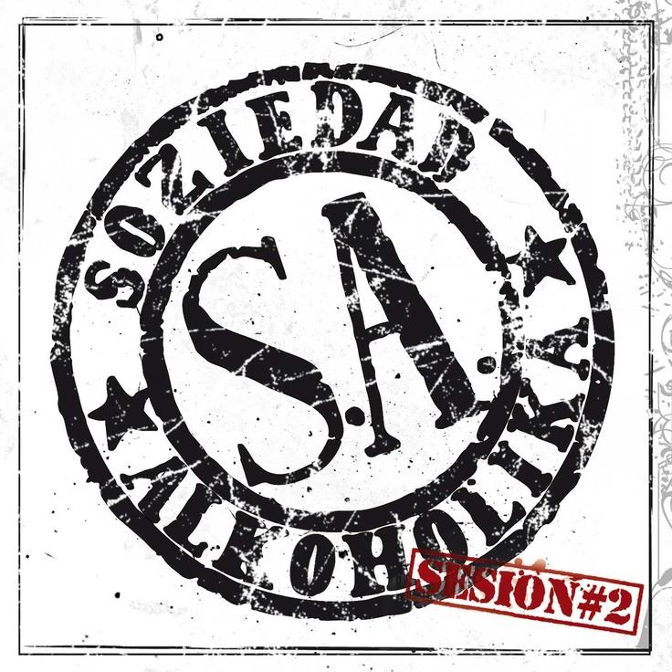 """Portada para el disco de Soziedad Alkoholika """"Sesión#2""""."""