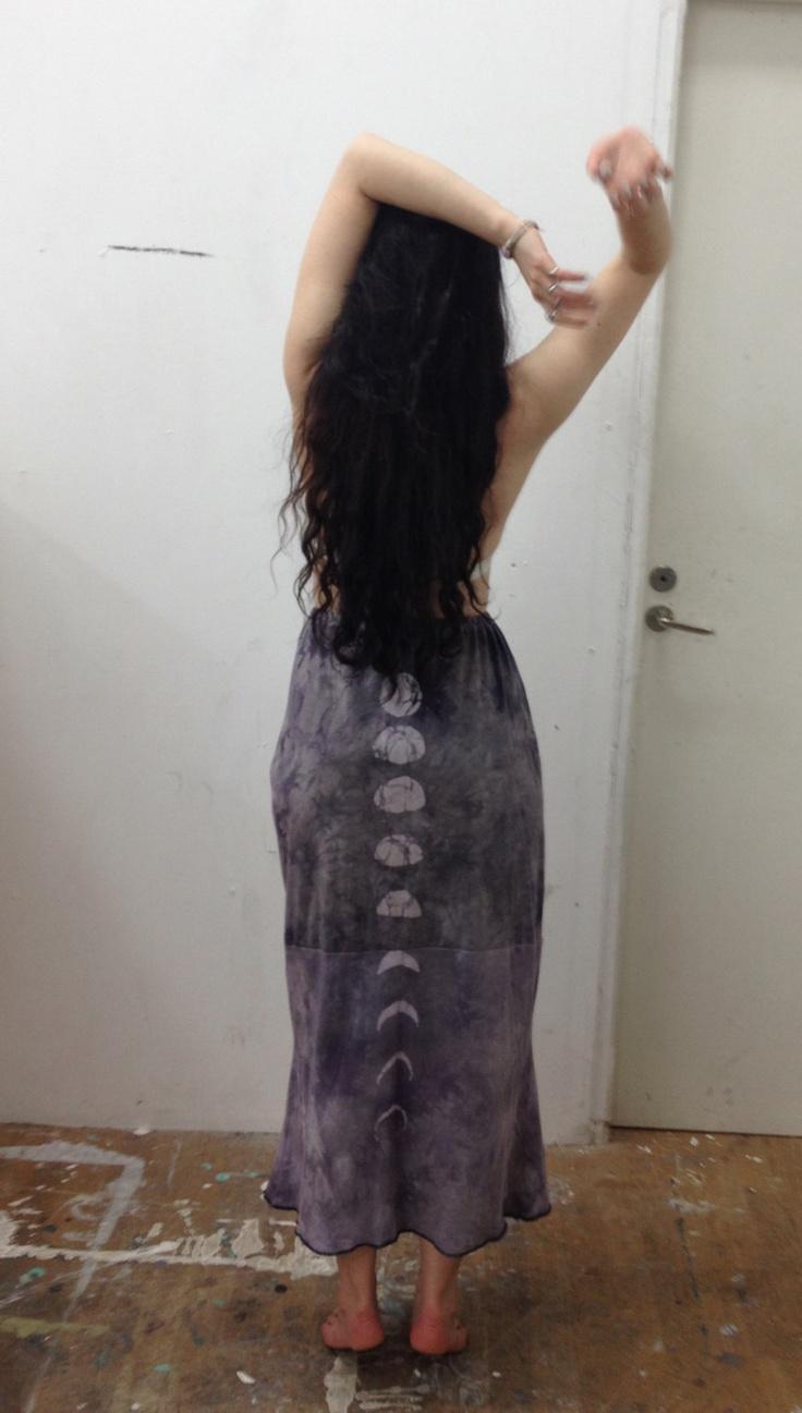 Grey Moon Rise // Full Length Skirt. $79.00, via Etsy.
