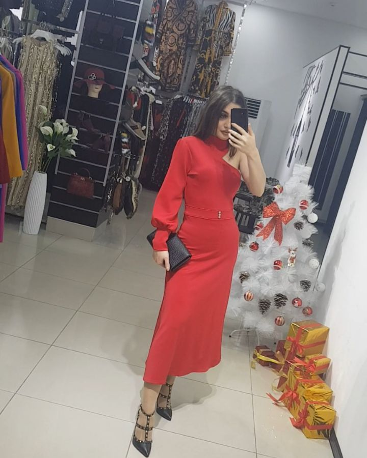 Pin On Dress Red