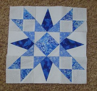 Florida Star Quilt Block