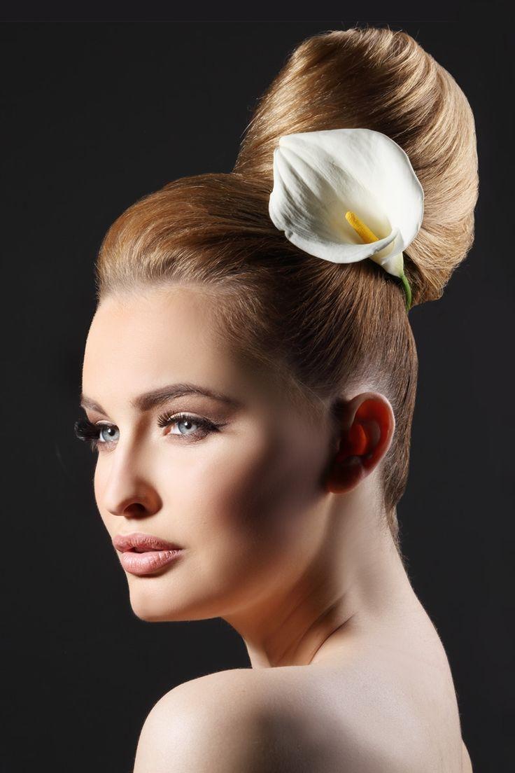 Modele chignon moderne ides coiffure rapide chignon coiffure mariage cheveux longs et - Modele coiffure mariage ...