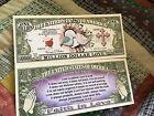 First Corinthians 13 Love Novelty Dollar Bill come…