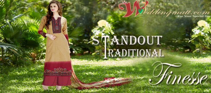Standard Traditional Finesse...  #Suits #anarkaliSuits #designerSuits #weddingSuits #OnlineSuits #latestSuits #shopping #Fashion #trand