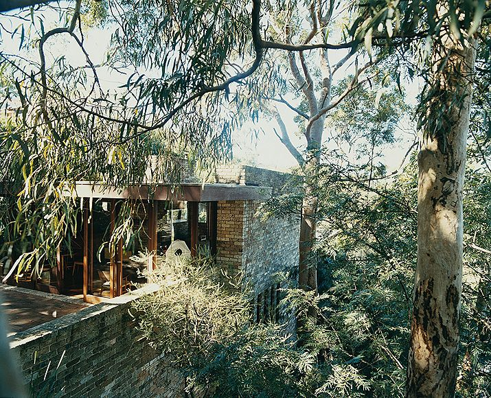The Marshall House, Clontarf, Sydney by Bruce Rickard, 1967.